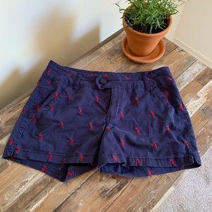 Seahorse navy summer shorts